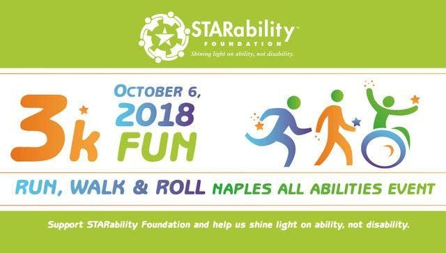 2018 3K Fun Run, Walk & Roll Naples All Abilites Event