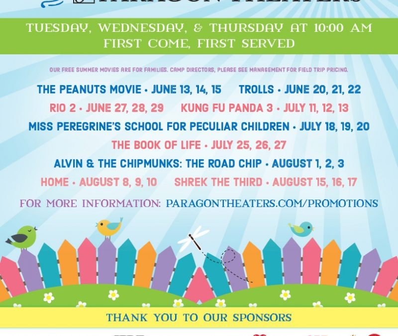 Free Summer Movie at Paragon Pavilion- Shrek the Third